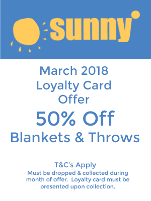 Sunny Dry Cleaning Offer Of The Month