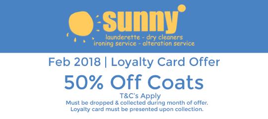 Sunny February 2018 Offer