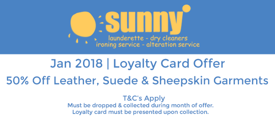 Sunny January 2018 Offer