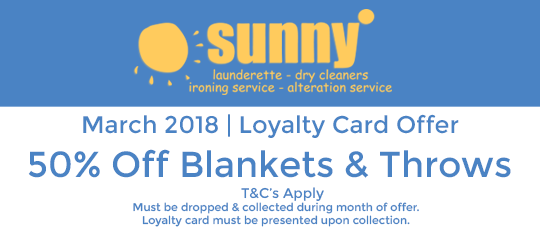 Sunny March 2018 Offer