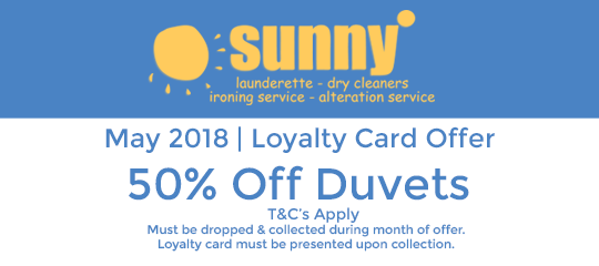 Sunny May 2018 Offer