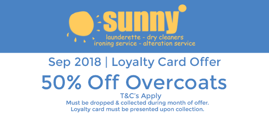 Sunny September 2018 Offer
