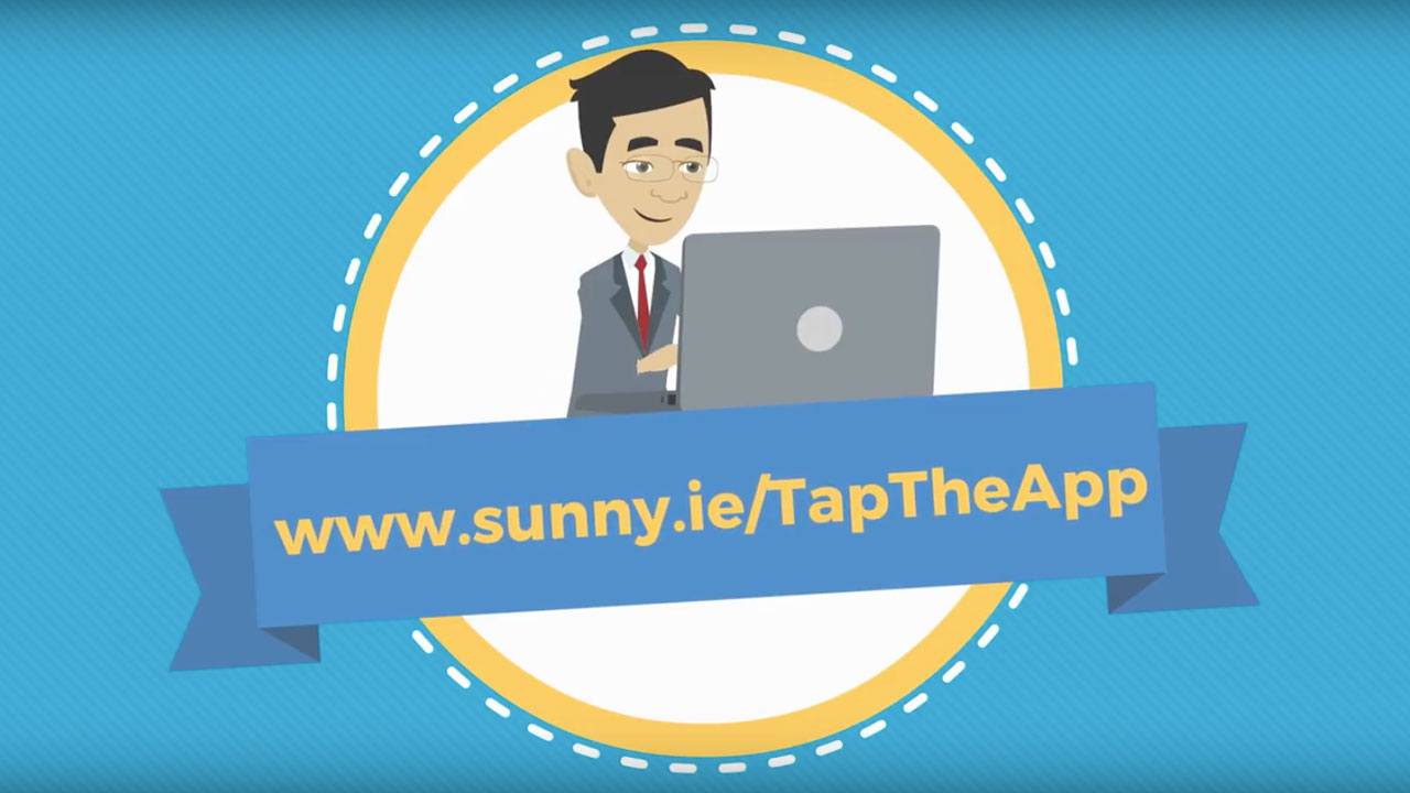 Sunny Tap The App Screenshot