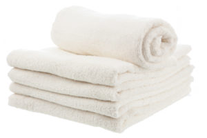 get fluffy clean towels from Sunny