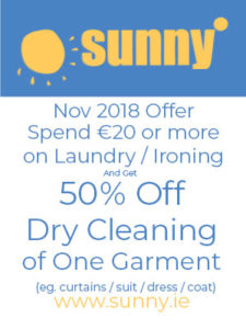 Sunny Offer Of The Month November 2018