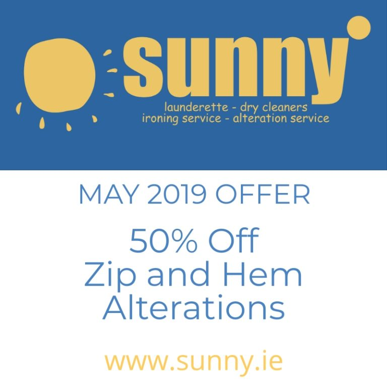 Sunny May Offer Text