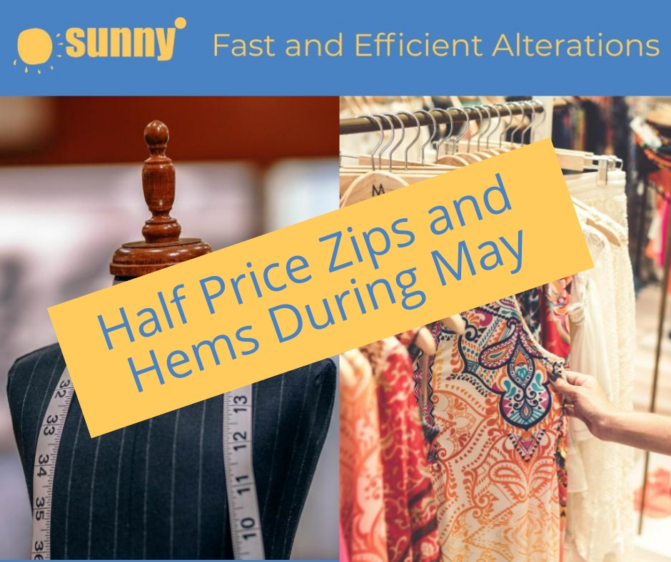Sunny May Alterations Offer