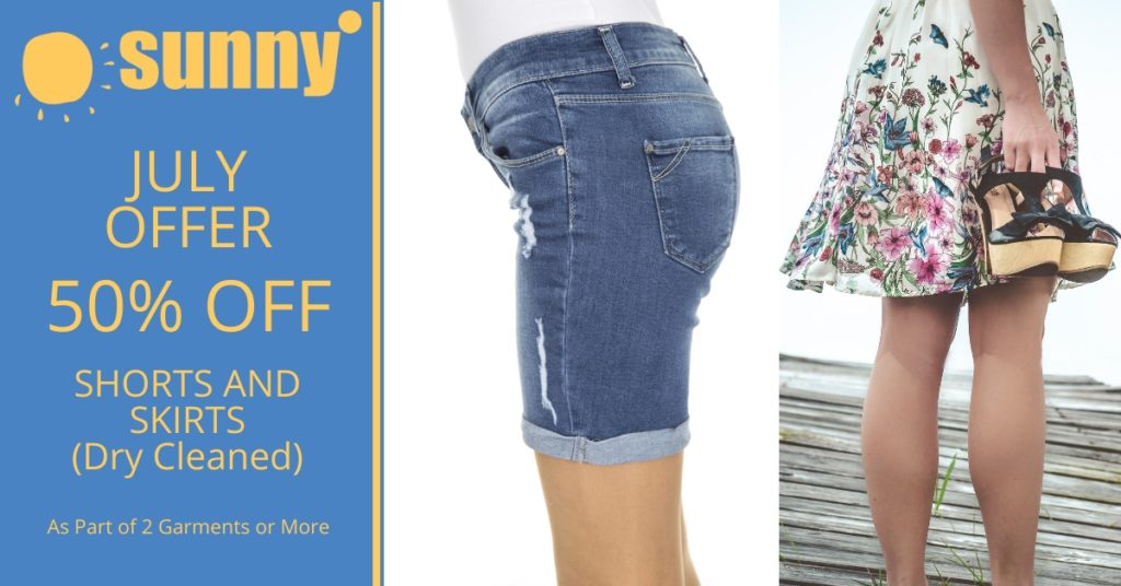July Offer Shorts and Skirts